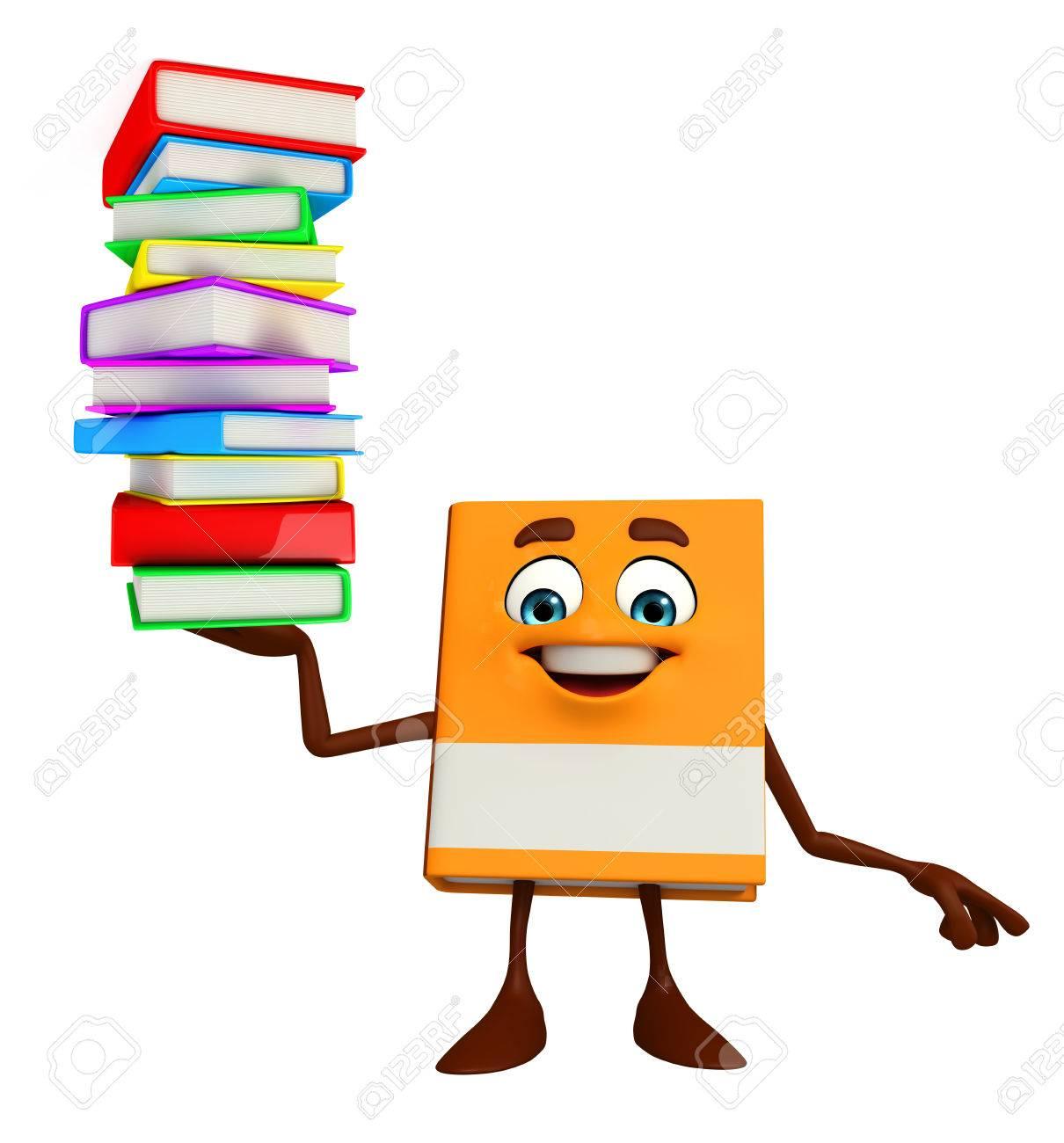 Books Cartoon Photos Cartoon Character of Books