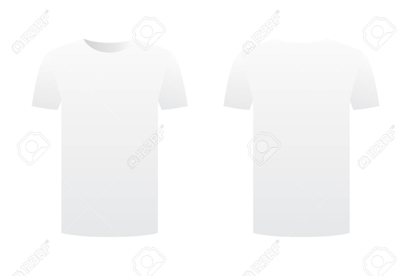 Empty T Shirt Template Images - Template Design Ideas