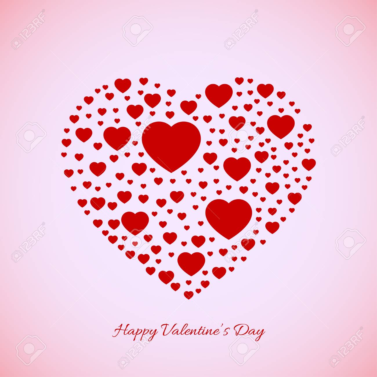 Valentines background Stock Vector - 17336633