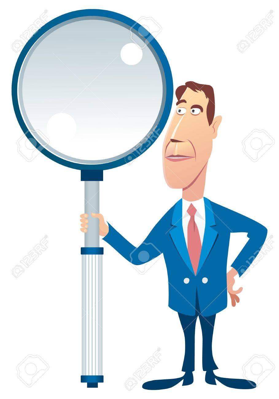 Inspector Stock Vector - 7930995