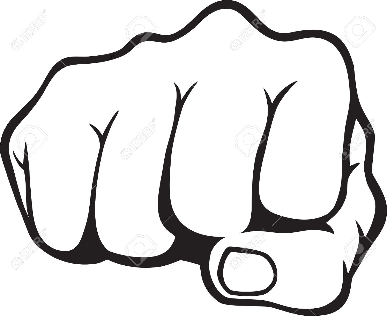 7930609-Fist-Stock-Vector-fist-punch-fre