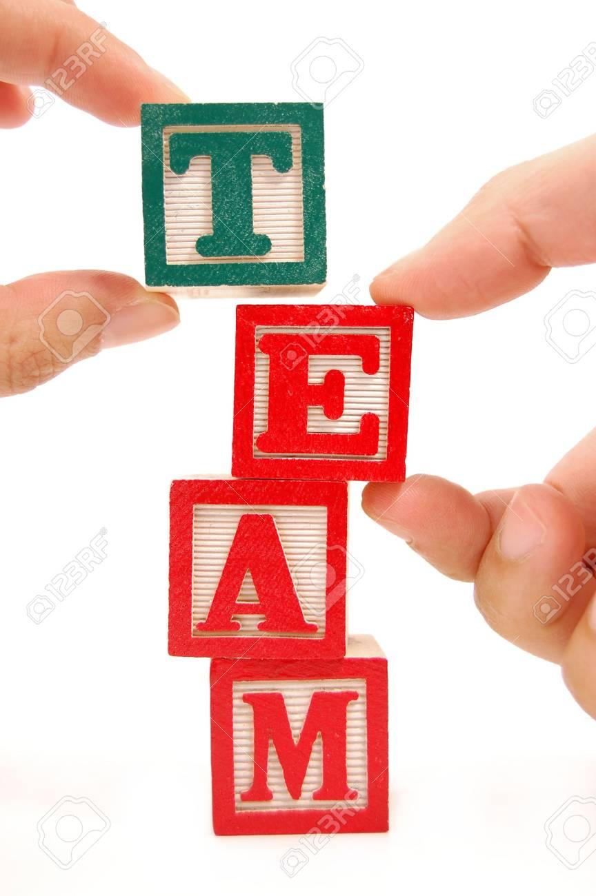 Teamwork Stock Photo - 4371177