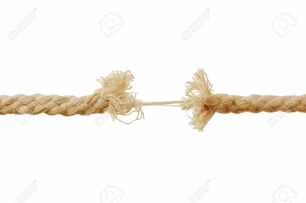 Breaking rope Stock Photo - 6694806