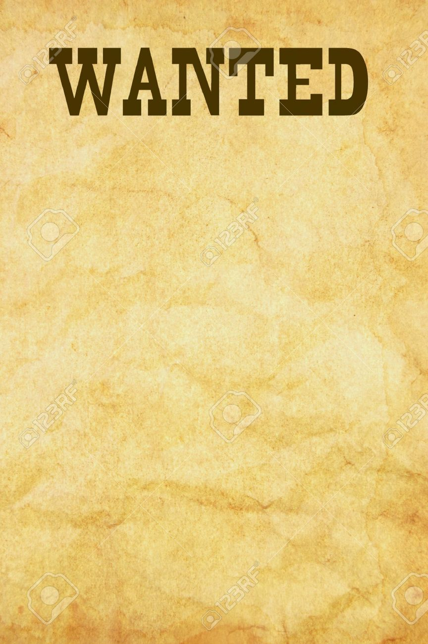 Wanted Poster Photo Picture And Royalty Free Image Image – Sample Wanted Poster