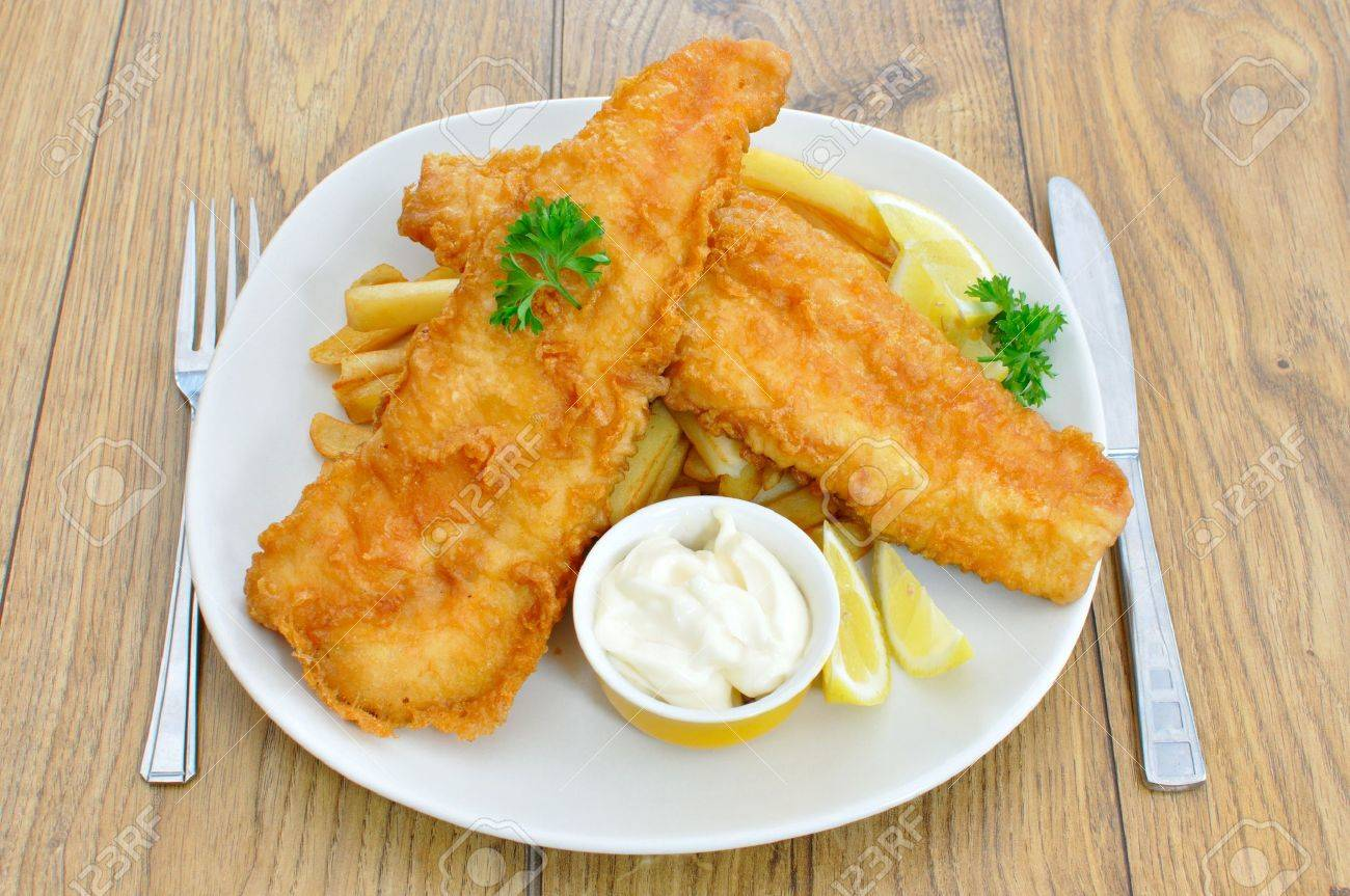 Fish and chips Stock Photo - 10940128