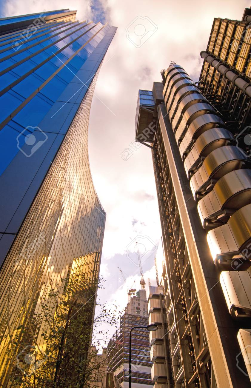 City skyscrapers Stock Photo - 15713094