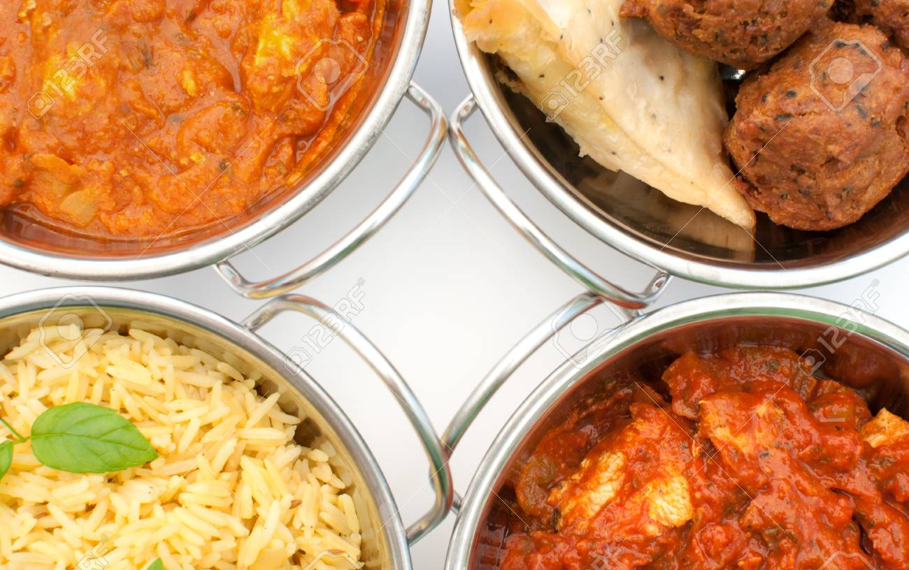 Curry dishes Stock Photo - 16233719