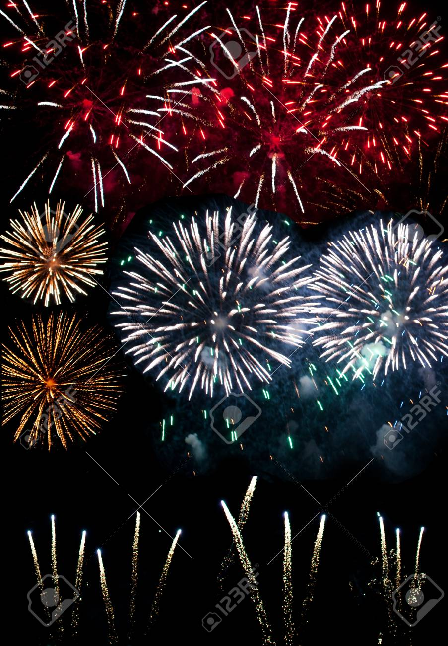 Firework display Stock Photo - 16720389