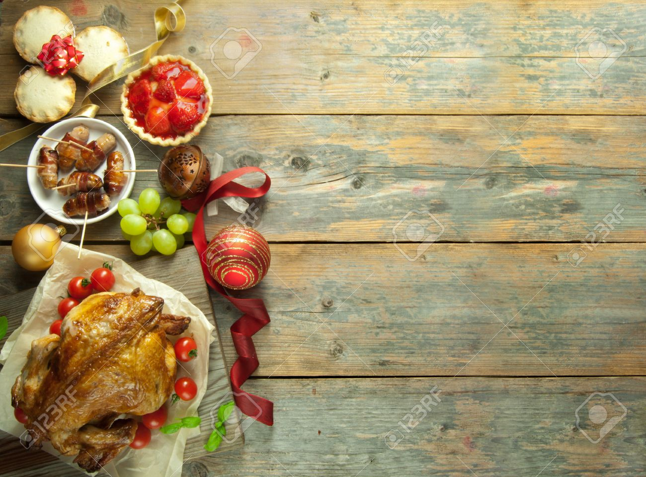 Food Background christmas food background stock photo, picture and royalty free