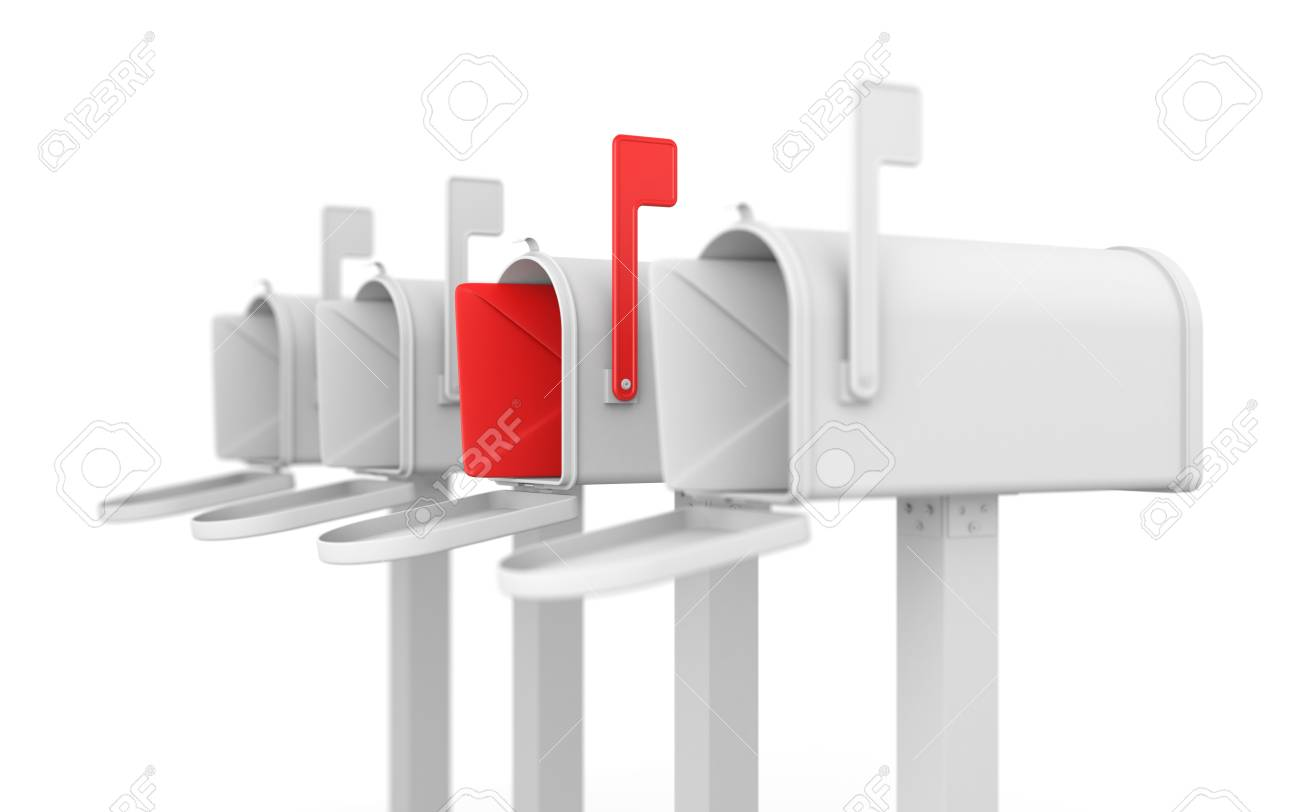 Communication concept. Isolated on white Stock Photo - 9348802
