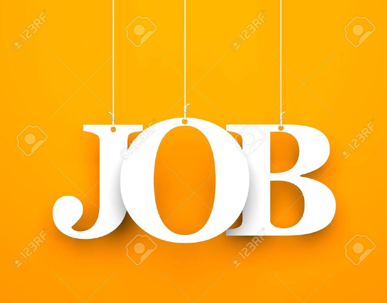 jobs ad stock photos images royalty jobs ad images and pictures jobs ad orange background hanging letters which make up the word job stock