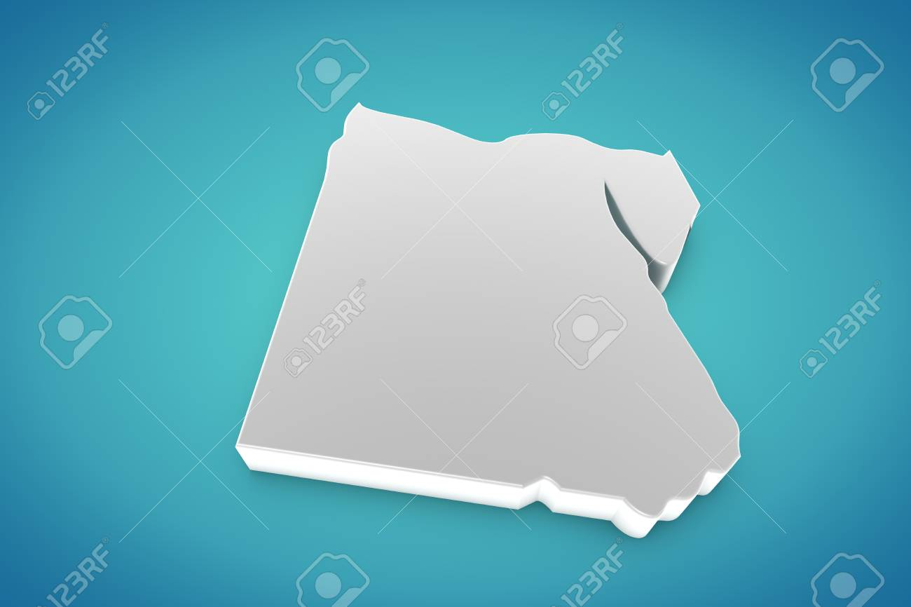 Egypt Map Stock Photo - 14905789