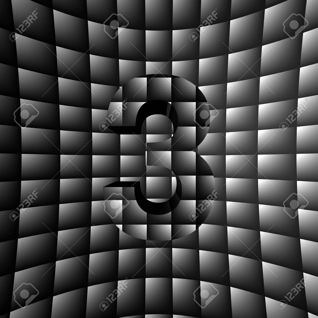 3D Illusion ABC Stock Photo - 16787619