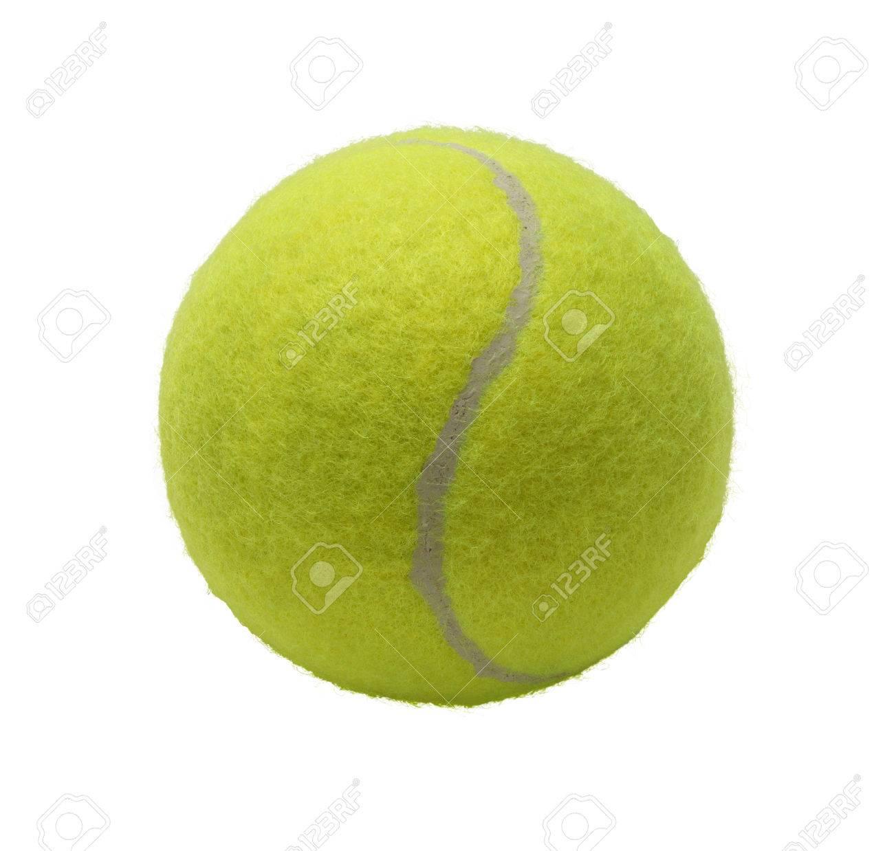 32c006a6de0c3 Vert Balle De Tennis Isolé Sur Fond Blanc. Banque D'Images Et Photos ...