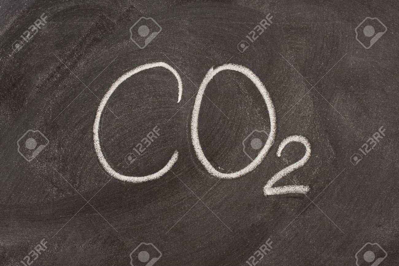 Chemical Symbol For Carbon Dioxide A Major Greenhouse Gas