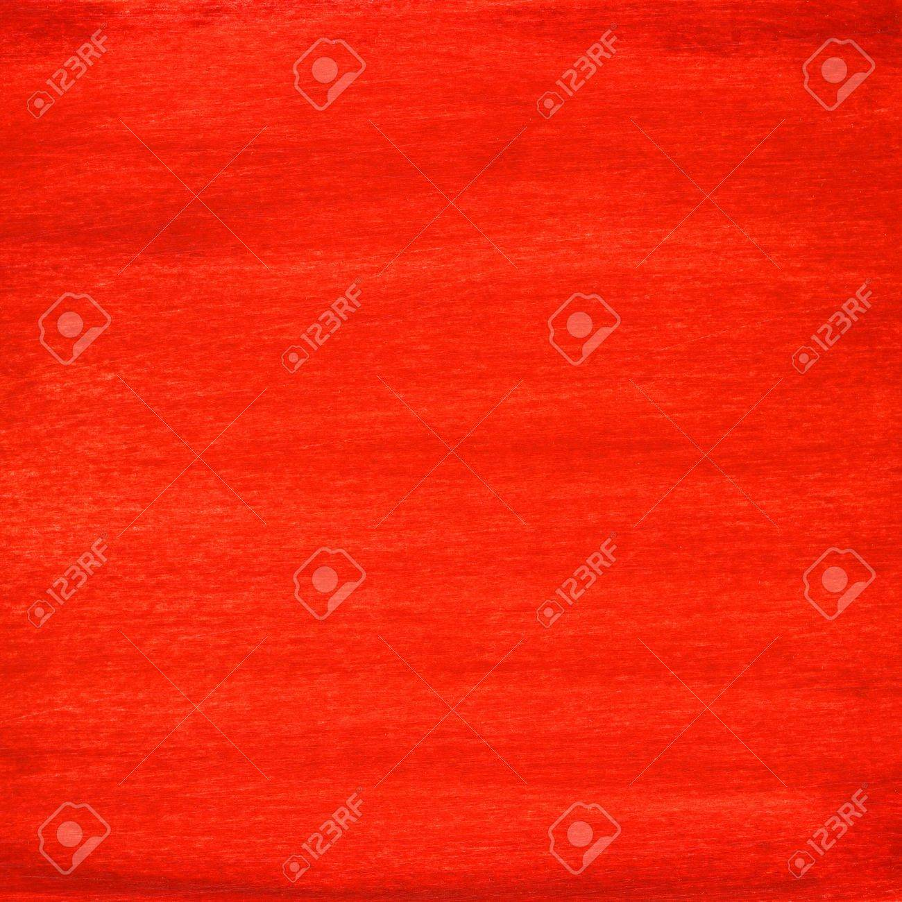 Red Hand Painted Watercolor Abstract With Scratch Texture On Paper Self Made Stock Photo