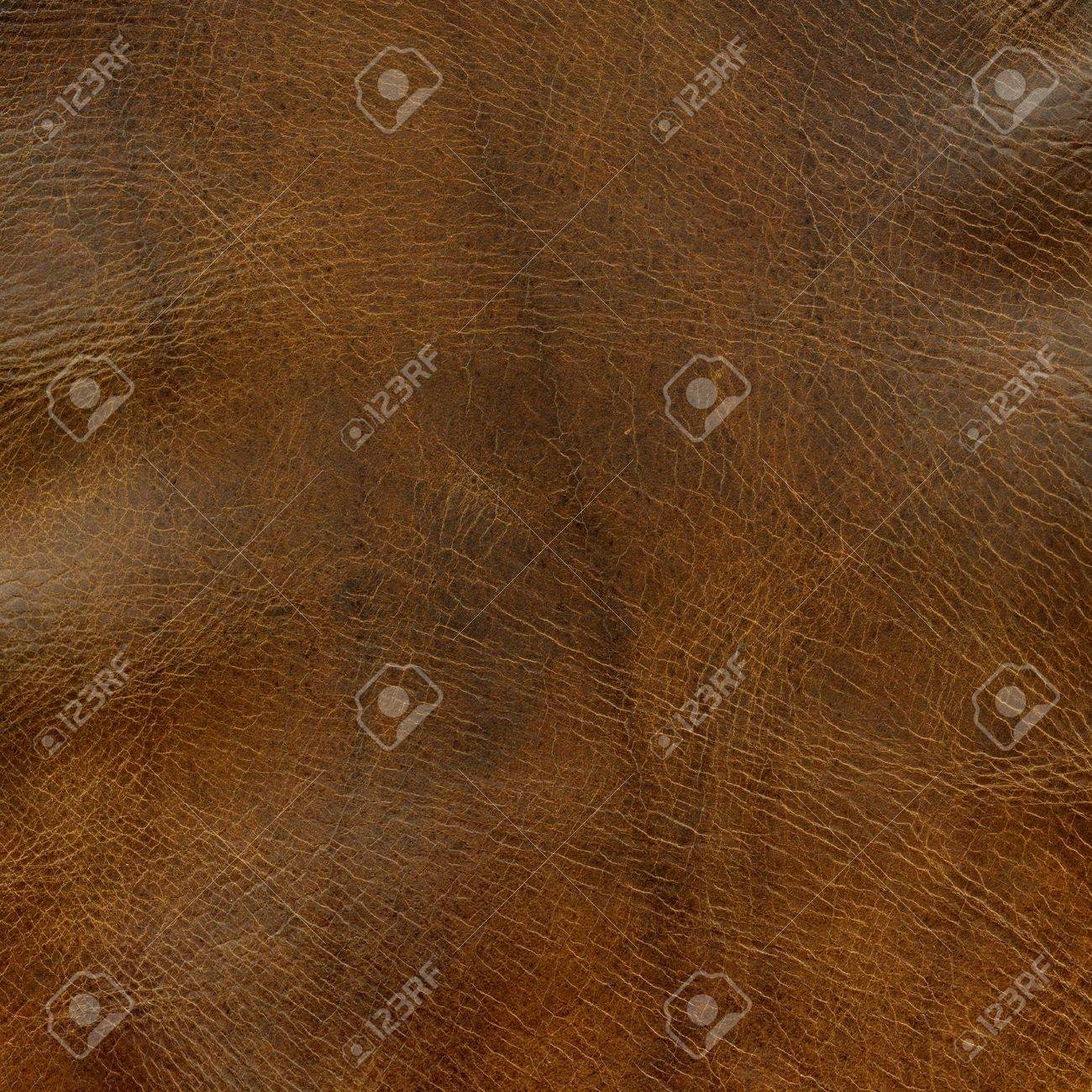 distressed brown leather background with some wrinkles - a top of old horse saddle Stock Photo - 5200526