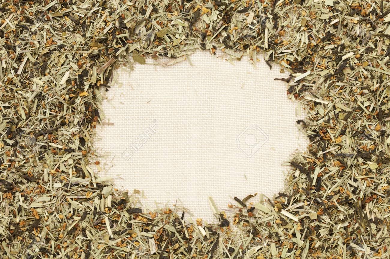 green tea with orange blossom Stock Photo - 10743755