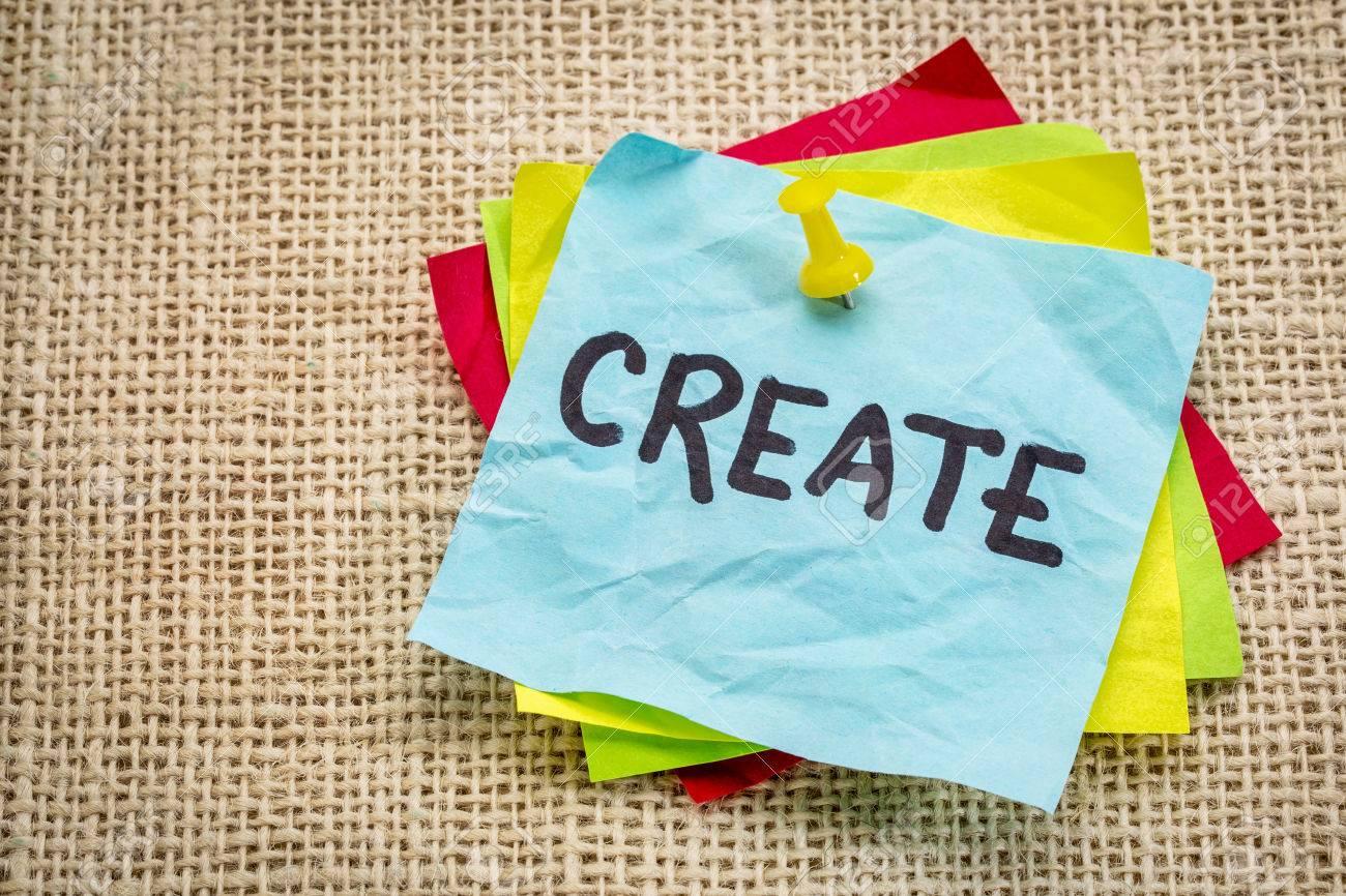 Mahnung Erstellen Auf Einem Notizzettel Kreativität Konzept