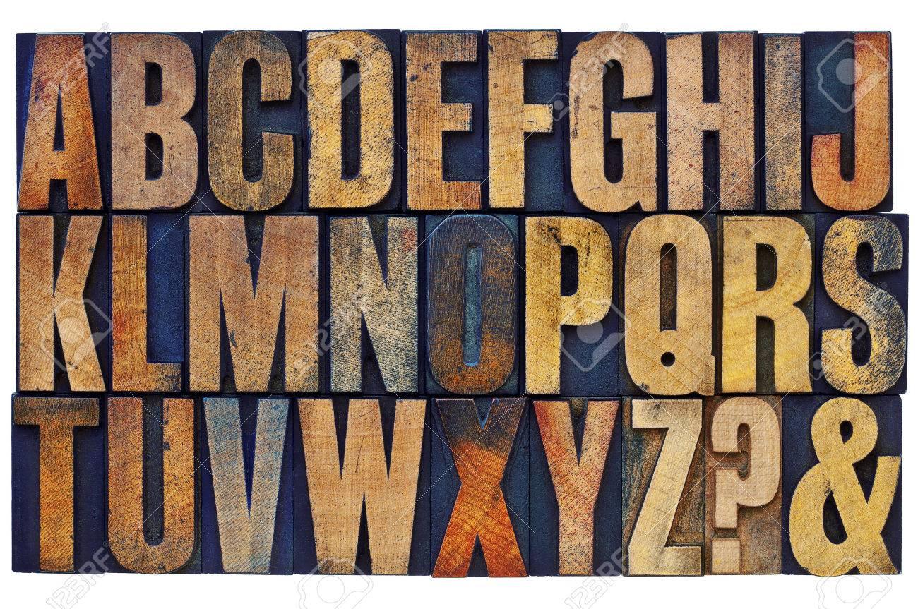 26 Lettres De L Alphabet Anglais Interrogation Et Esperluette