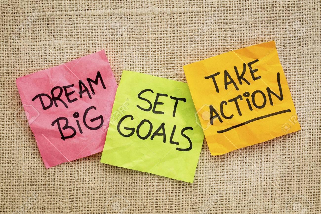 Image result for set goals take action