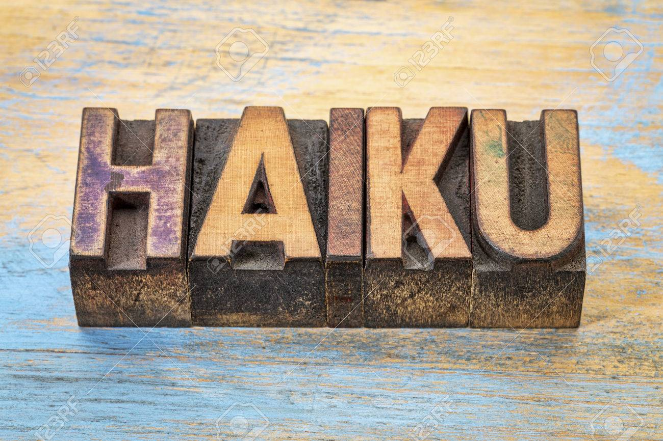 Haiku - A Very Short Form Of Japanese Poetry - Word Abstract ...