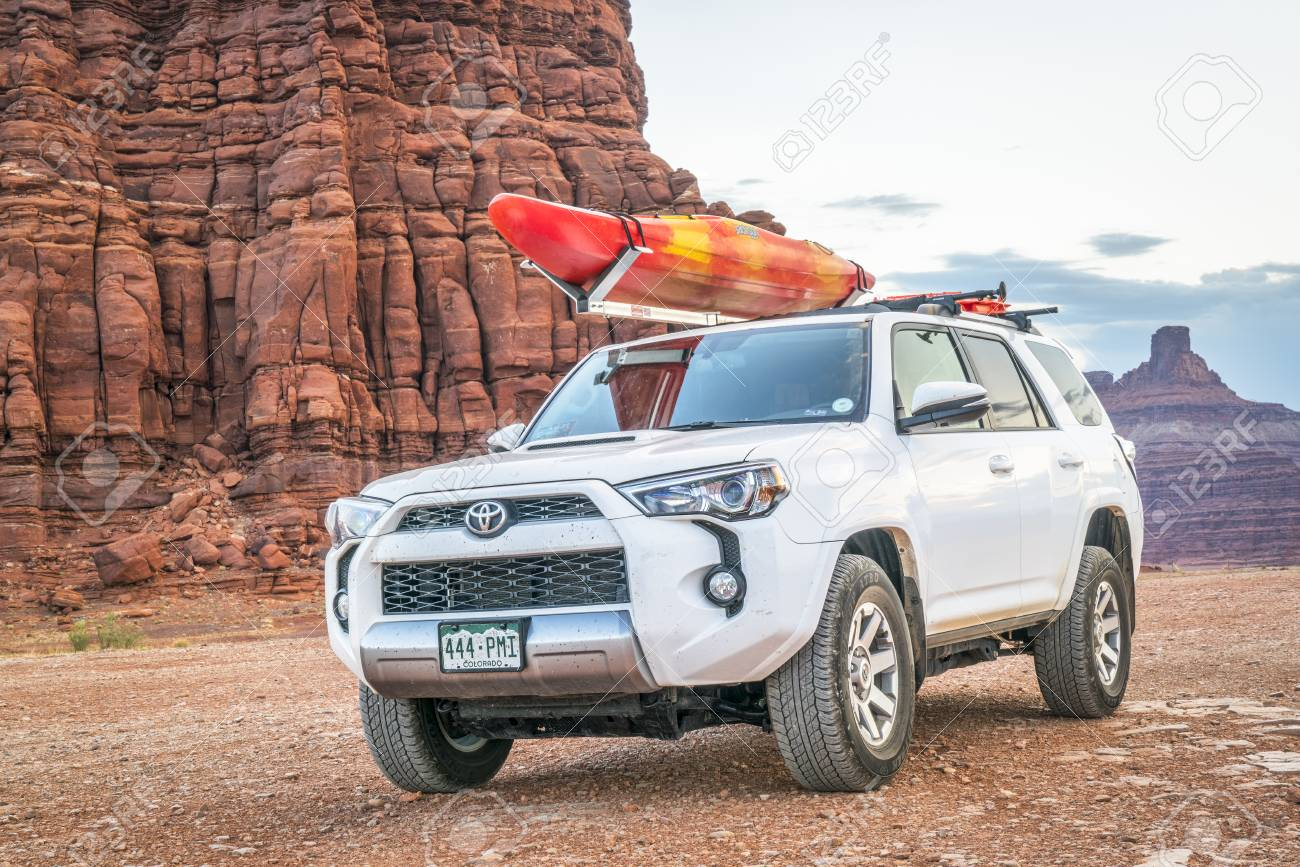 Potash Ut Usa May 7 2017 Toyota 4runner Suv 2016 Trail Stock Photo Picture And Royalty Free Image Image 78042539