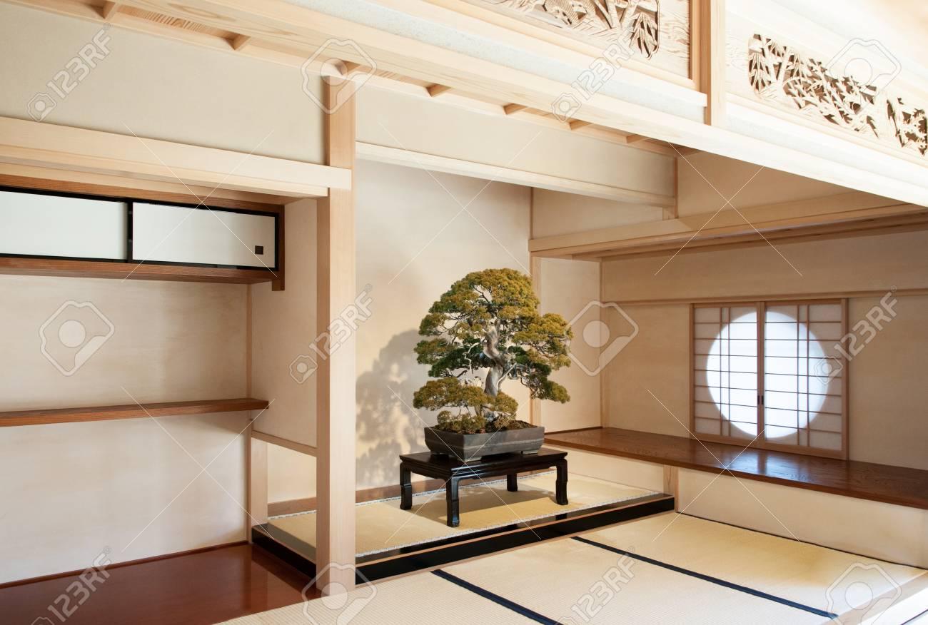 Fine Dec 10 2012 Omiya Saitama Japan Juniper Bonsai On Wooden Interior Design Ideas Philsoteloinfo