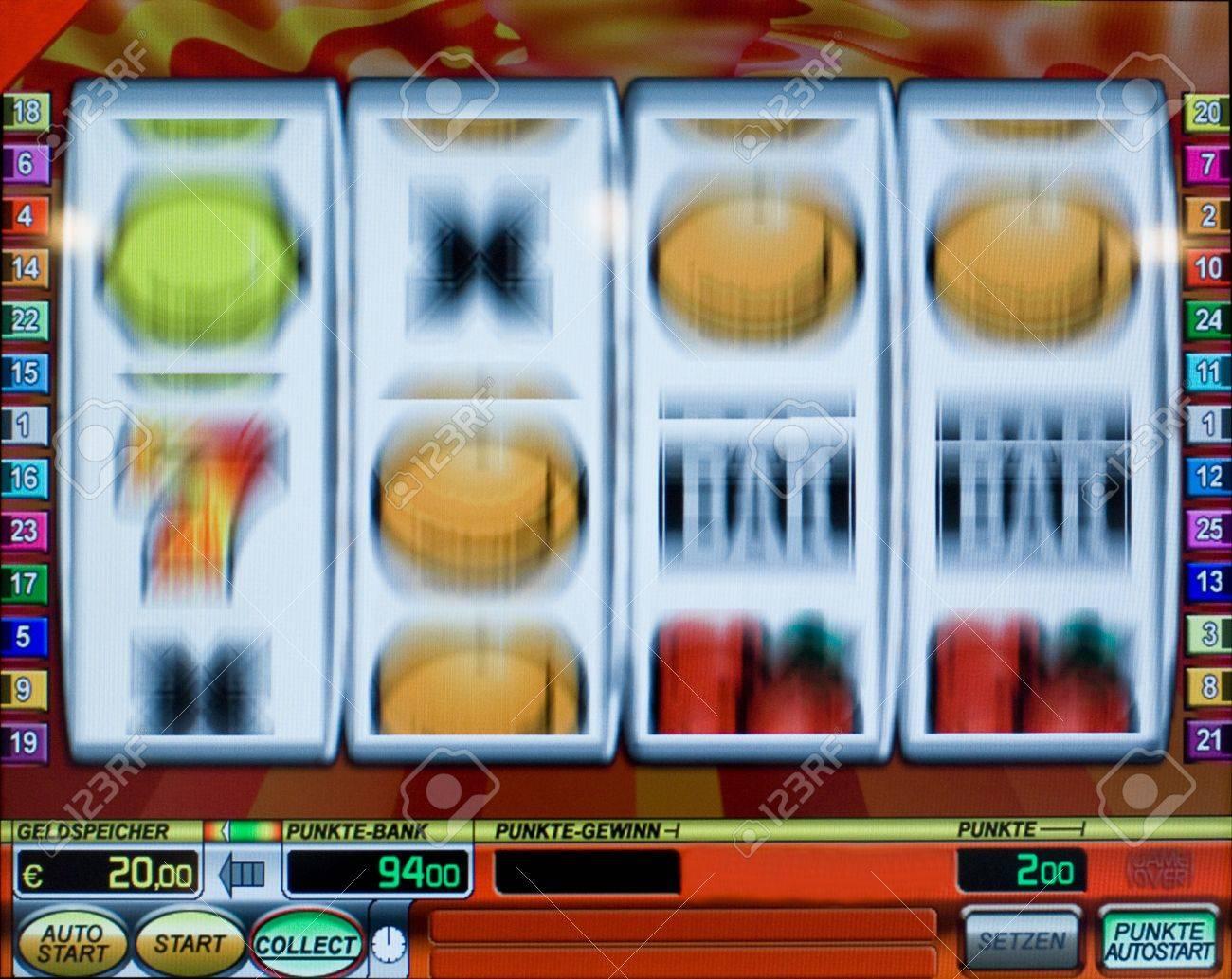 Rotating Fruit machine Stock Photo - 7526674