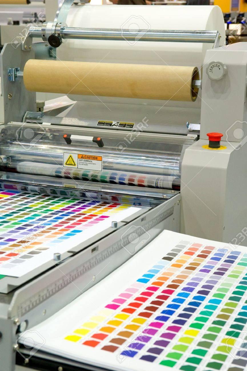 Printing machine Stock Photo - 14472396