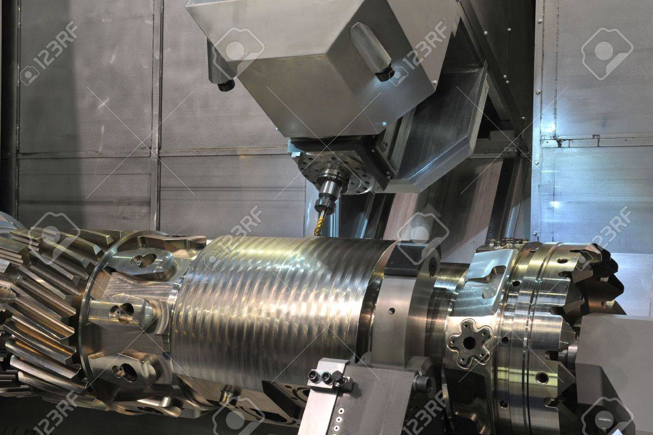 Lathe, CNC milling Stock Photo - 15791026