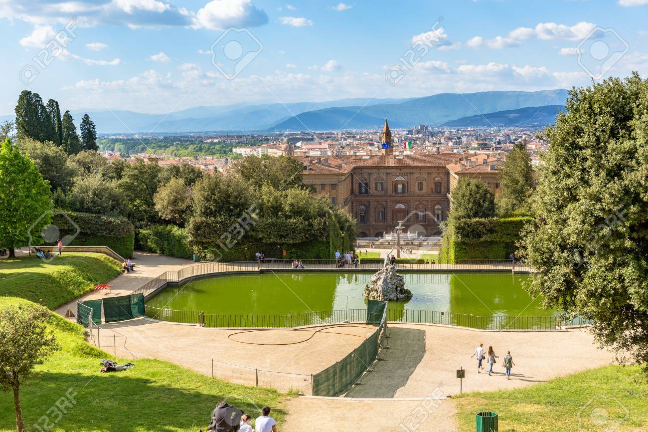 View Of Boboli Garden In Florence Stock Photo Picture And Royalty