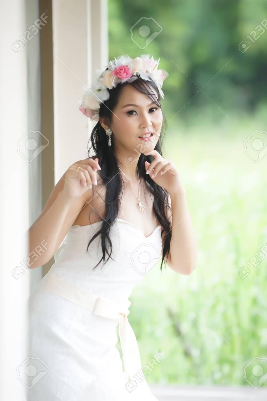 Woman beautiful asian bride thai — photo 15