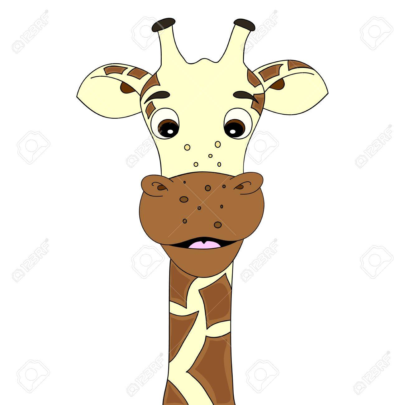 Giraffe cartoon Stock Vector - 10271024