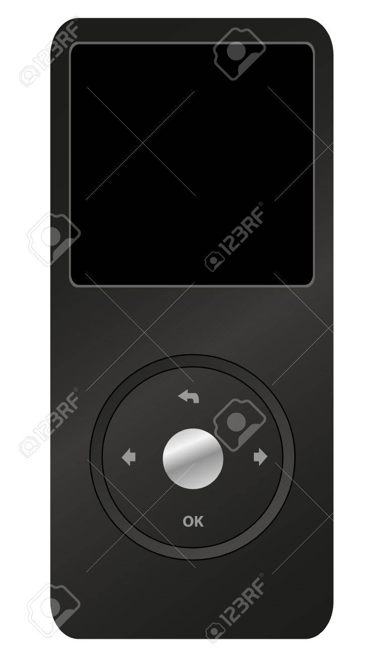 Mp3 player Stock Vector - 14388344