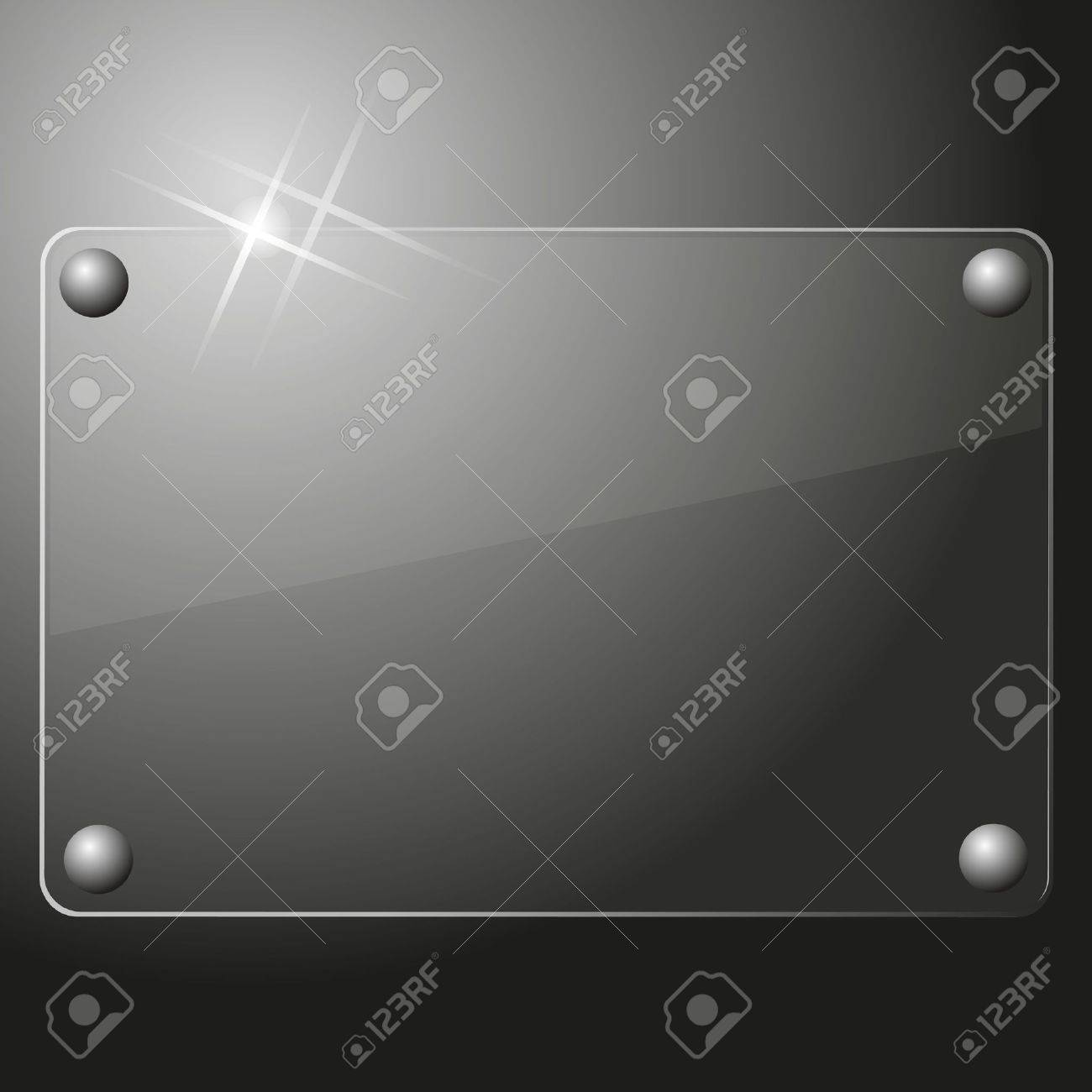 Glass plate background Stock Vector - 15820581