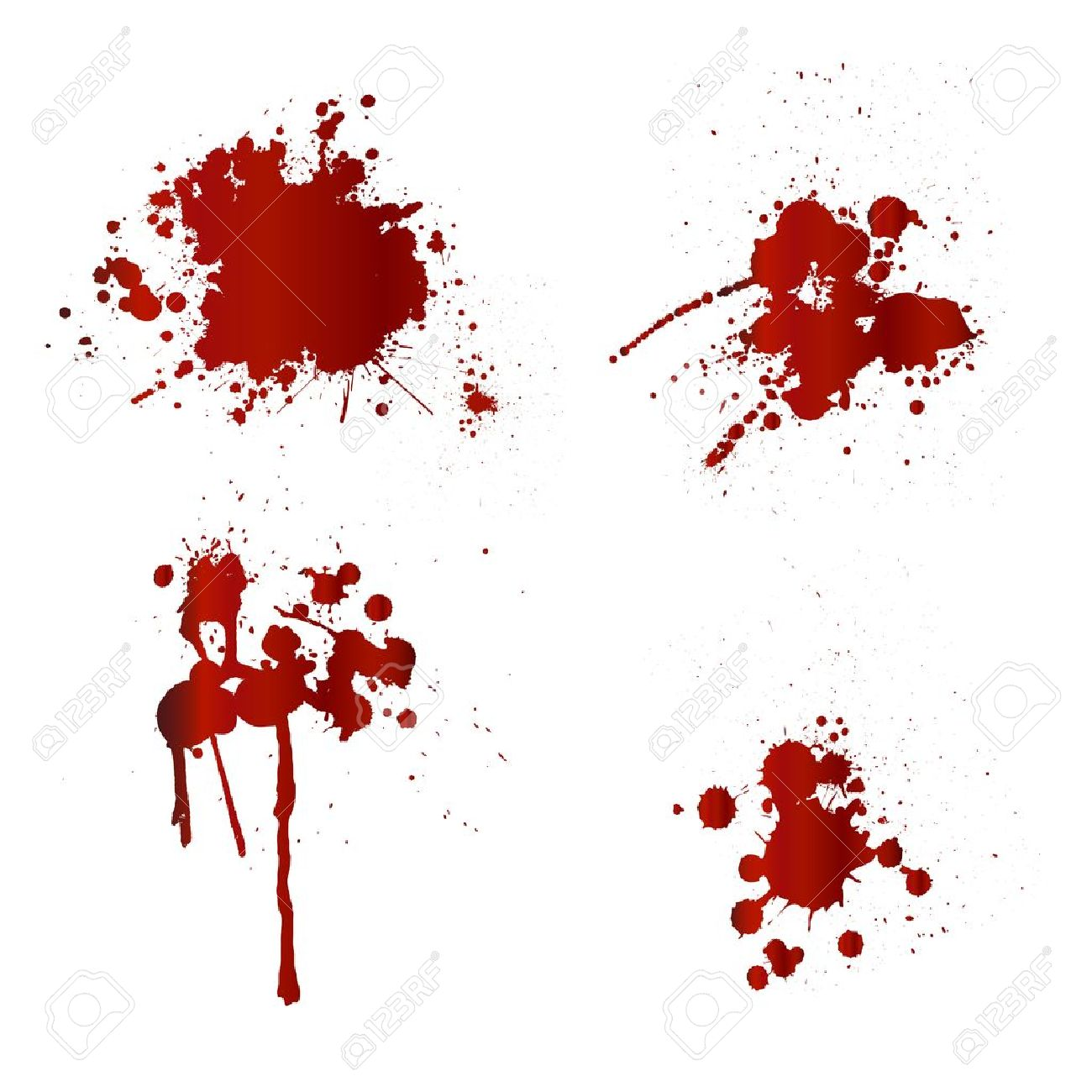 血しぶきのイラスト素材ベクタ Image 17302326