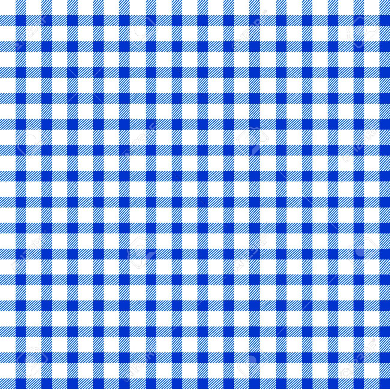 Beau Seamless Retro White Blue Square Tablecloth Stock Vector   17302205