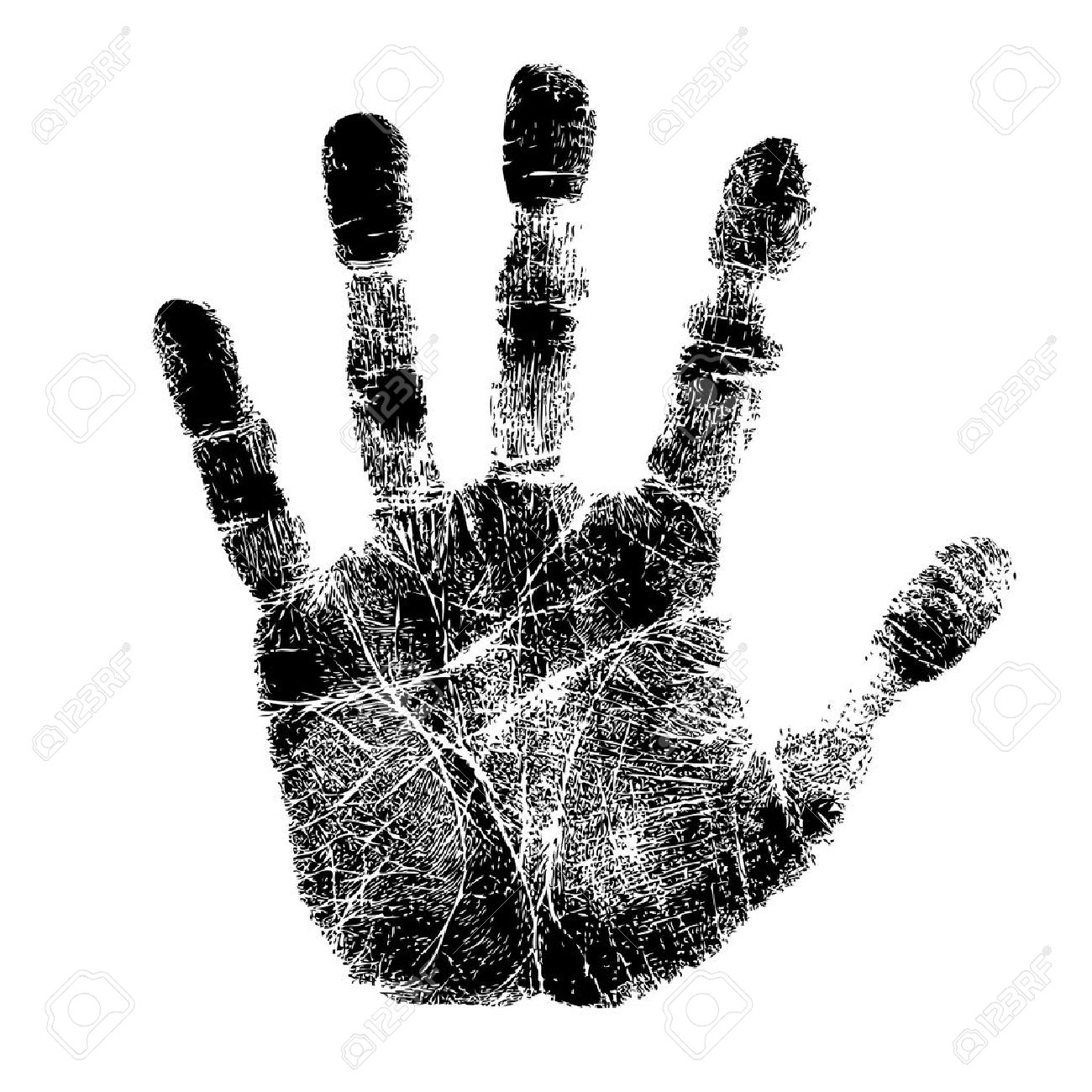 6,281 Handprint Stock Vector Illustration And Royalty Free ...