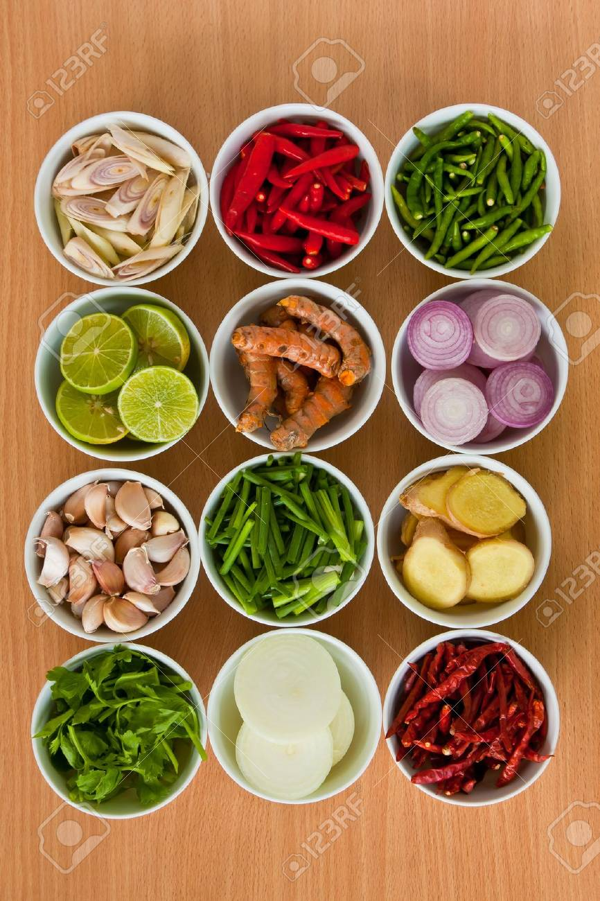 Thai food ingredients stock photo picture and royalty free image thai food ingredients stock photo 9660040 forumfinder Image collections