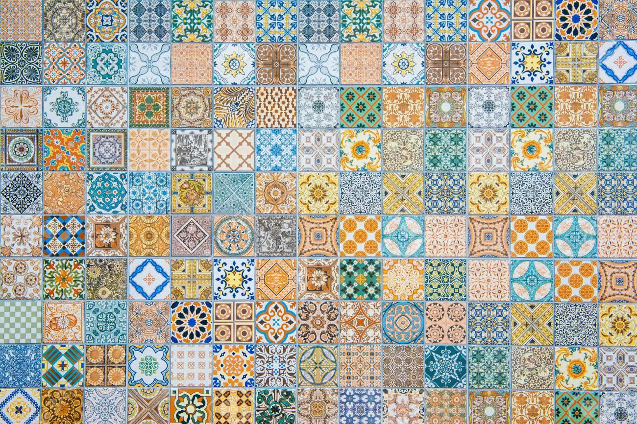 ceramic tiles patterns - 128029608