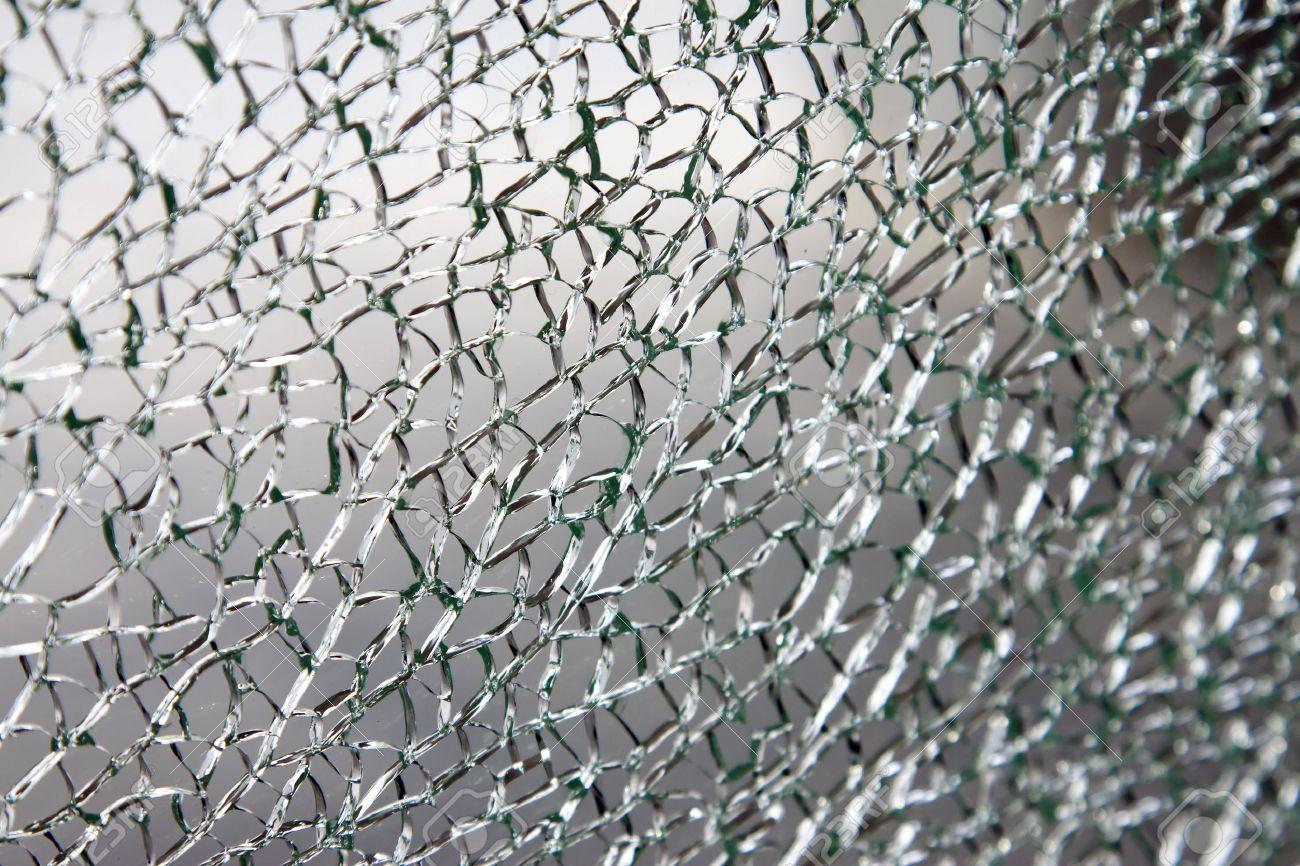Broken glass background or texture Stock Photo - 7445807