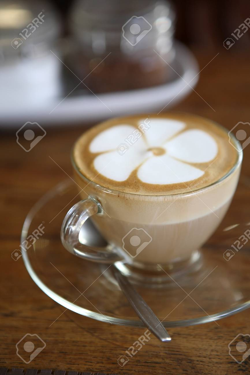 coffee on wood background Stock Photo - 11094070