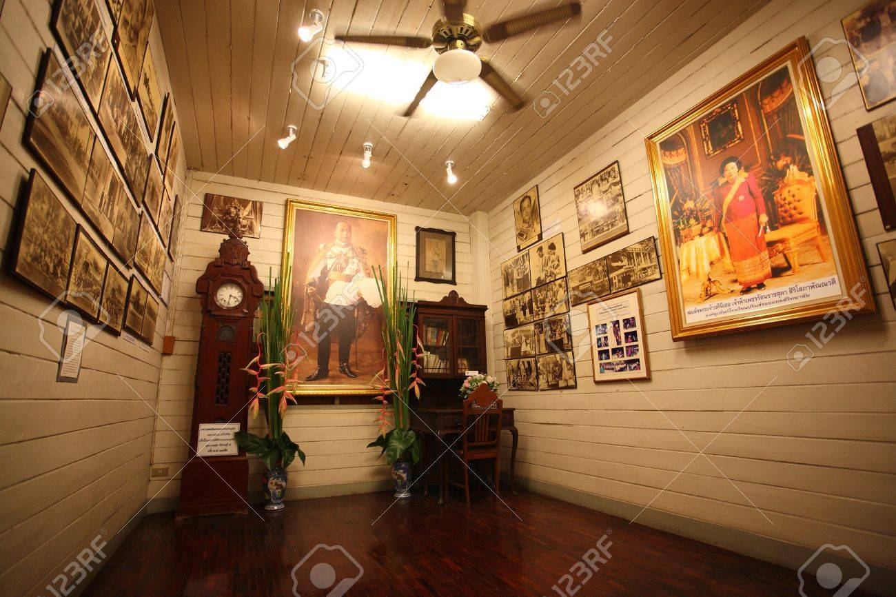Old thai room Stock Photo - 11564386
