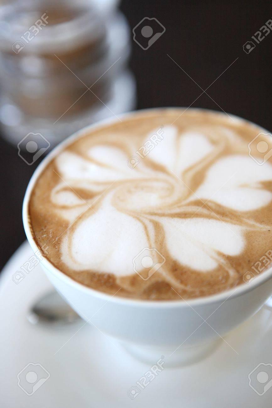 coffee on wood background Stock Photo - 12174040