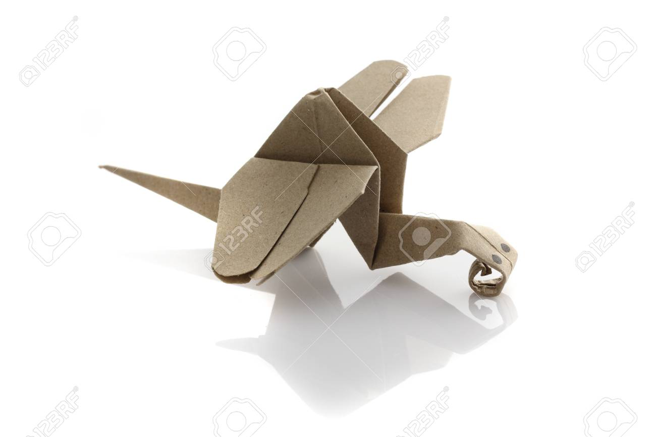 Origami dragonfly by recycle papercraft stock photo picture and origami dragonfly by recycle papercraft stock photo 14804039 jeuxipadfo Image collections