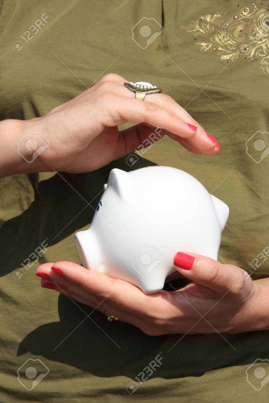 hands protecting his savings Stock Photo - 3505311