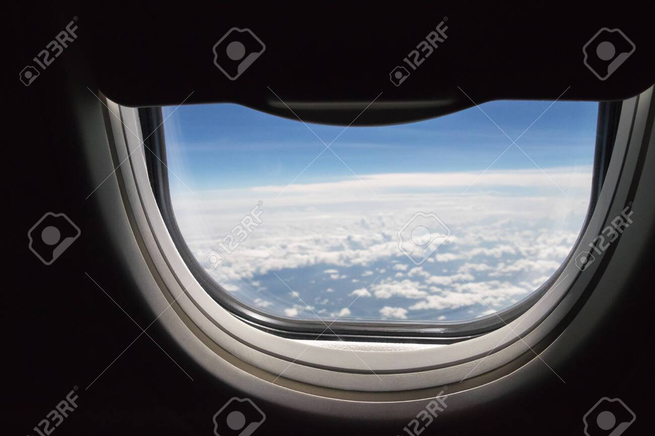 Astonishing Window Seat An Open Half Space In Airplane With Blue Sky And Beatyapartments Chair Design Images Beatyapartmentscom
