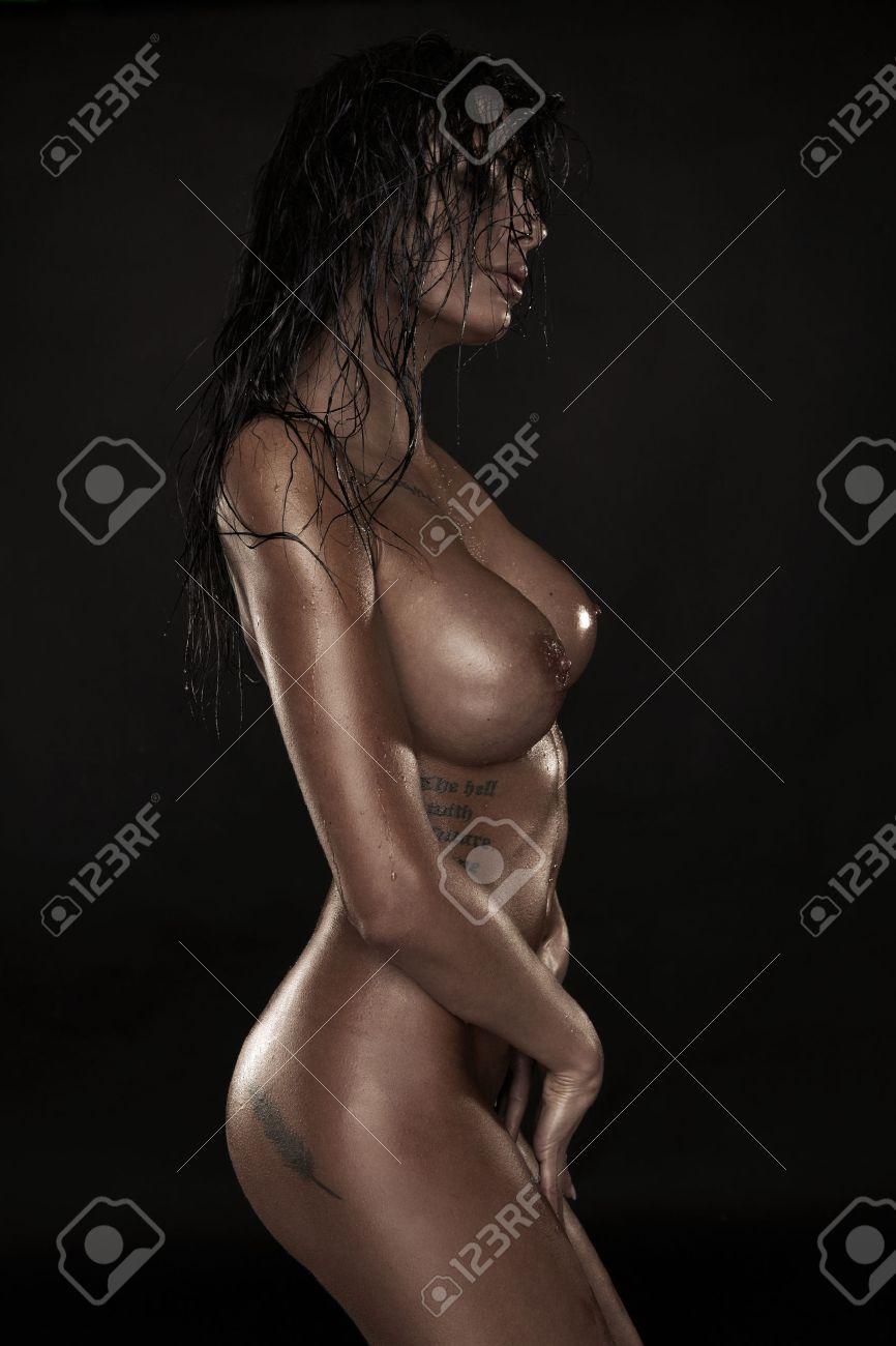 naked coed sucks cock