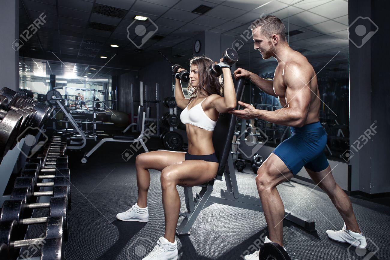 Kết quả hình ảnh cho couple gym